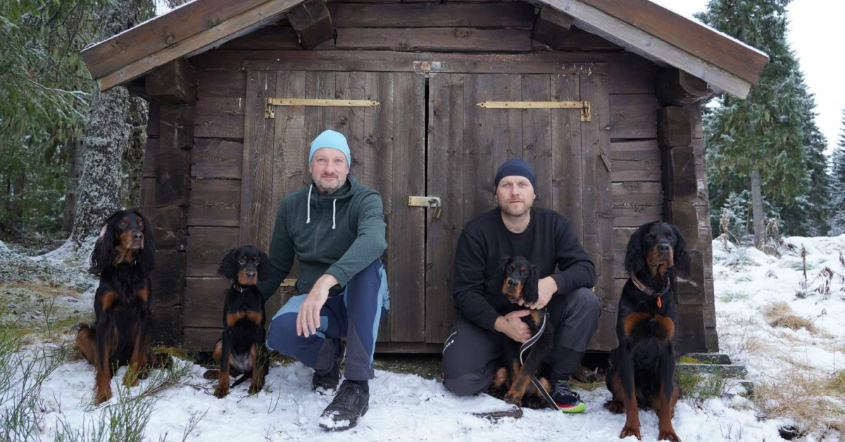 Falling feather film – Skogsfugljakt med hund