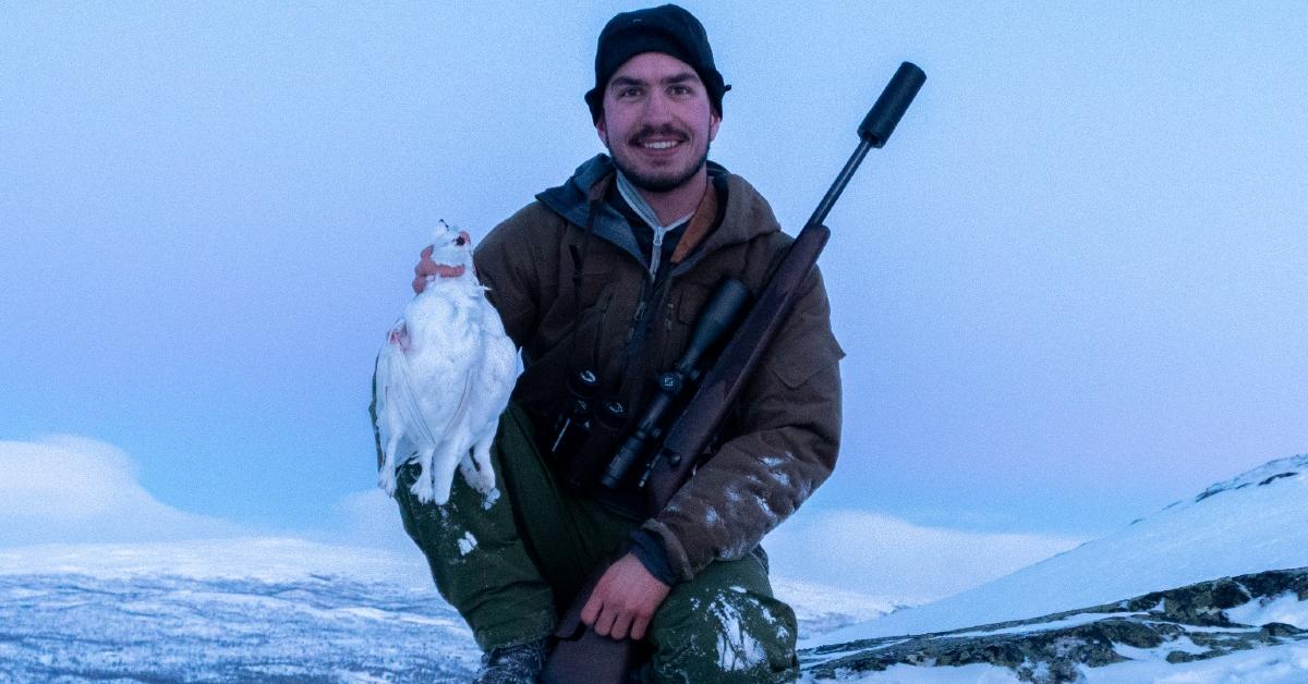 Vinterjakt på rype med Simon Åsheim